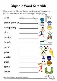 unscramble sports words worksheets 15892 olympic word scramble