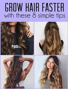 grow hair faster with these 8 simple tips