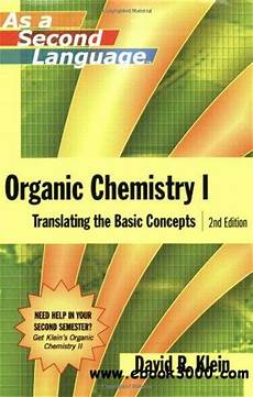 organic chemistry i as a second language translating the