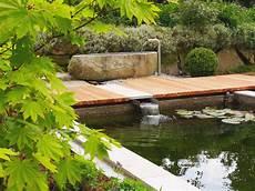 Terrassengestaltung Mit Wasser - brunnen wasserspiele wasserbecken gartengestaltung