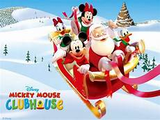 mickey christmas wallpapers wallpaper cave