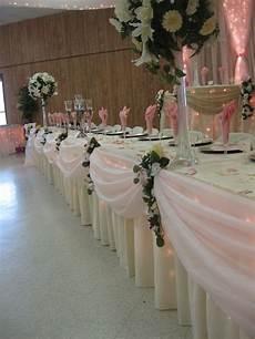 bridal party table decor head table wedding bridal table bridal party tables