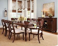 Cherry Wood Dining Room Sets by Cherry Wood Dining Room Furniture Table 6 Chairs Set Ebay