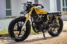 Yamaha L2 Modif Cafe Racer