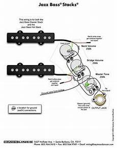 Wiring Harness Jazz Bass Balance J Bass In 2020 Bass