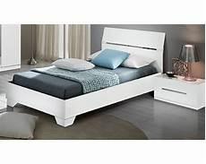 lit blanc but lit blanc 2 places 160 x 200 avec sommier