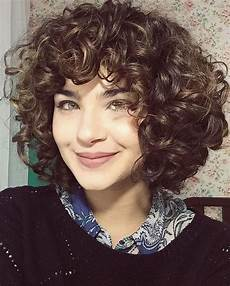 short and layered curly hairstyles