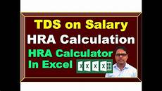 hra calculation for a y 2020 21 house rent allowance