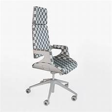 interstuhl silver 362s office chair 3d model max obj