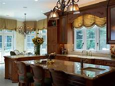Decorating Ideas For Kitchen Window Treatments by Kitchen Window Treatment Valances Hgtv Pictures Ideas