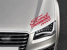 1 x ford performance sticker indecals