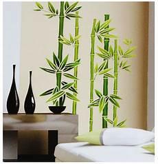 fensterbild wandtattoo bambus strauch fensterbilder