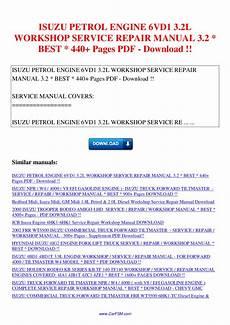 how to download repair manuals 2008 isuzu i 370 user handbook isuzu petrol engine 6vd1 3 2l workshop service repair manual 3 2 440 pages by nana hong issuu