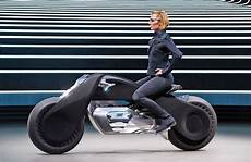 bmw s motorcycle of the future doesn t require a helmet