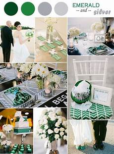 emerald green and silver wedding ideas all things