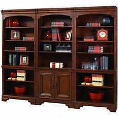 home office furniture virginia 3 piece cherry brown bookcase wall richmond in 2020