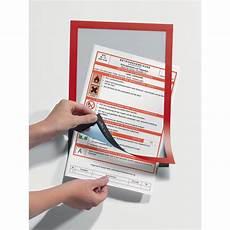 cornici adesive cornici adesive magaframe durable a4 rosso 4872 03