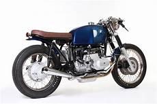 Cafe Racer Blue Honda