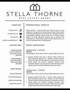realtor resume template realtor cv real estate resume and cover letter resume
