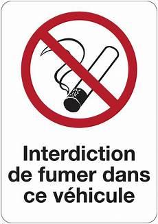 interdiction voiture etiquette pour v 233 hicules interdiction de fumer dans ce v 233 hicule seton fr