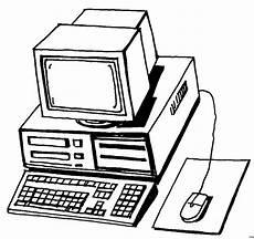 Gratis Malvorlagen Computer Computer Tastatur Maus Ausmalbild Malvorlage Sonstiges