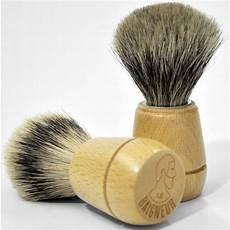le baigneur blaireau rasage bois de h 234 tre du jura bois clair
