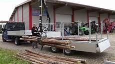 Pkw Anhänger - eifo pkw anh 228 nger mit kran fa 3 5 400