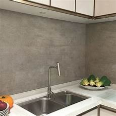 Large Tile Kitchen Backsplash Grey Effect Large Format Porcelain Tiles