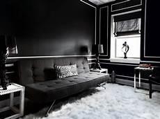 moderne wohnzimmer schwarz weiss mod black and white living room hgtv