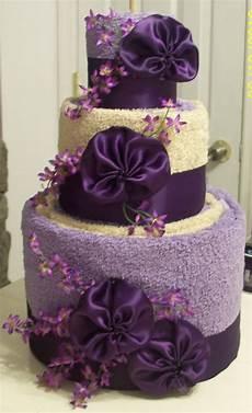 Wedding Towel Cake Ideas precious memories scrapbooking towel cake wedding shower gift