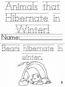 animals in winter worksheets for kindergarten 14199 pin on winter craft ideas