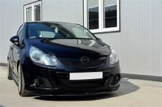 Opel Corsa D Gebraucht - front splitter opel corsa d for opc vxr gloss black