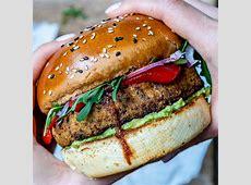 simple veggie burgers image