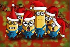 christmas minions by kingoftheplatypus