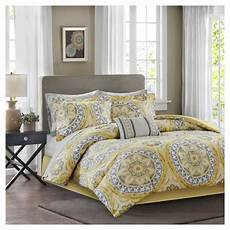 yellow nepal medallion complete multiple piece comforter 7 piece target