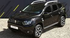 Only Dacia Duster Black Collector Edition Goes On