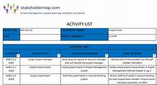 activity list activity list template in 2020 with images list of