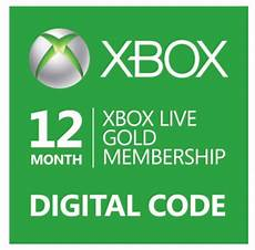 deal 12 month xbox live gold membership for only 39 99