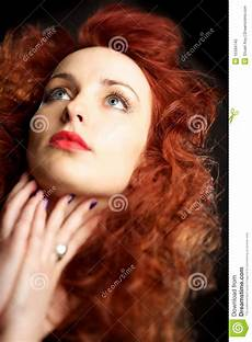 young girl with red hair stock photo image of forest beautiful young woman with red hair stock photo image 15399740