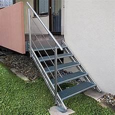 Treppengeländer Außen Verzinkt - treba frewa alaska treppenstufe gitterrost 27 x 100 cm