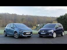 Comparatif Citro 235 N C4 Picasso Vs Volkswagen Touran