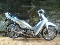 Modifikasi Shogun 110 by Modifikasi Motor Suzuki Shogun 110 Keren Terbaru Otomotiva