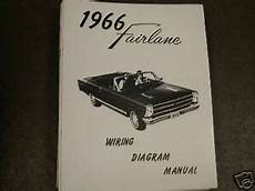 headlight switch wiring diagram 1966 fairlane 1966 ford fairlane wiring diagram manual ebay