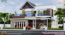 contemporary kerala house plans 4 bedroom attached modern home design kerala house