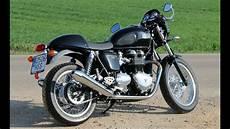 Triumph Thruxton 900 Prueba