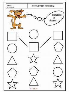 coloring pages matching the geometric shapes kids preschool worksheets 101 coloring pages