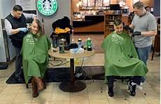 rose community shaves heads for st baldrick s