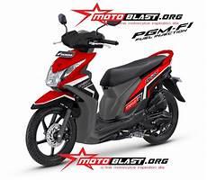 Modifikasi Honda Beat 2019 by Modifikasi Motor Beat 2019 Warna Hitam Mobiliobaru