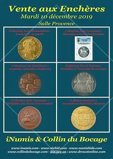 collin du bocage r 233 sultats de la vente aux ench 232 res inumis collin du bocage inumis boutique numismatique
