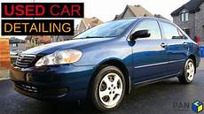 how can i learn about cars 2006 toyota tacoma interior lighting how to detail a used car an old toyota corolla 2006 youtube
